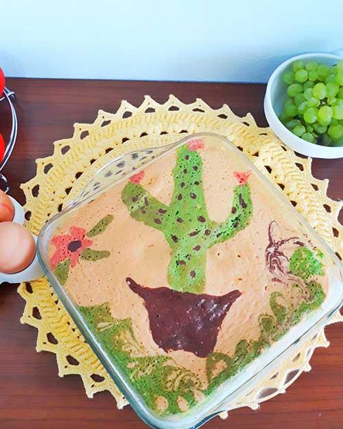 Resep Cake Jelita Sederhana Ala Rumahan Dengan Hasil Yang Cantik