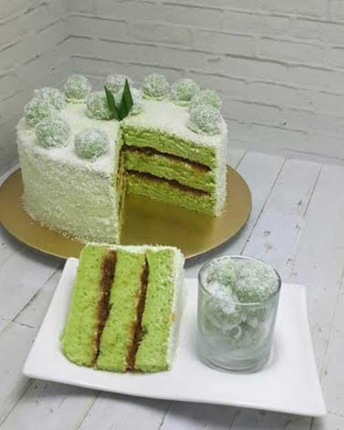 Resep Klepon Cake Praktis Dan Lezat Bisa Untuk Ide Jualan Dirumah