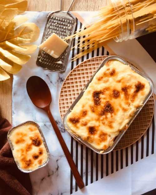 Resep Spaghetti Brulee Cheese Panggang Yang Viral