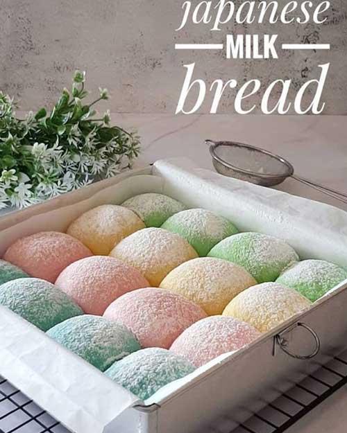 Cara Membuat Japanese Milk Bread Roti Sobek Khas Jepang Yang Mudah