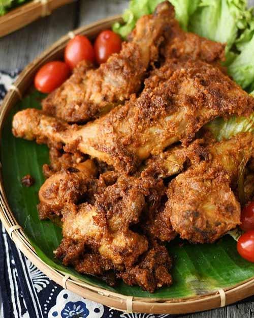 Resep Ayam Bakar Bumbu Rujak Gurih Lezat