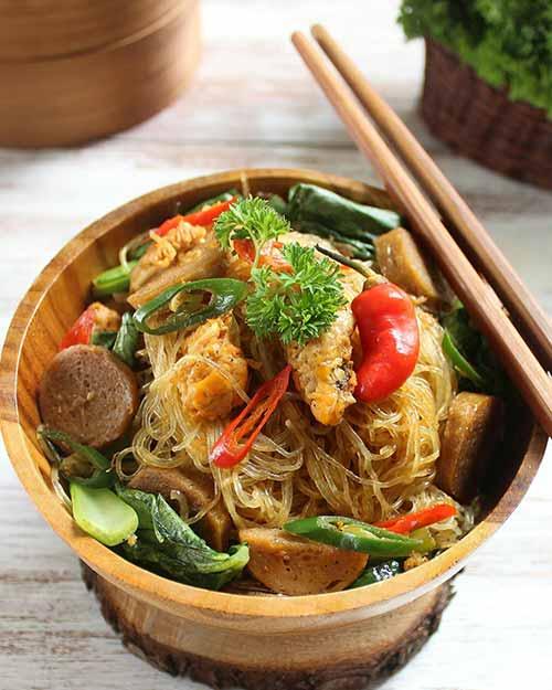 Resep Bihun Goreng Enak Spesial Ala Restoran