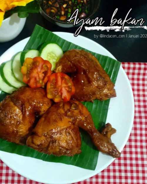 Resep Membuat Ayam Bakar Rumahan