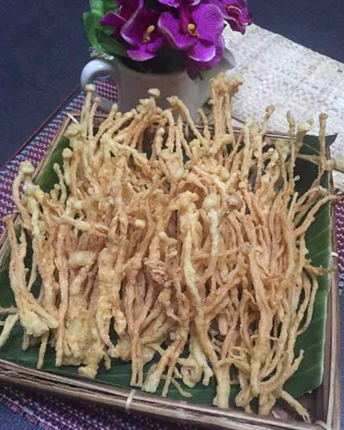 Resep Membuat Jamur Enoki Goreng