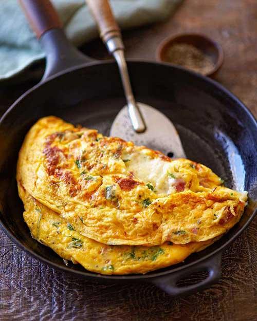 Resep Omelet Sayur Tebal Enak dan Anti Gagal