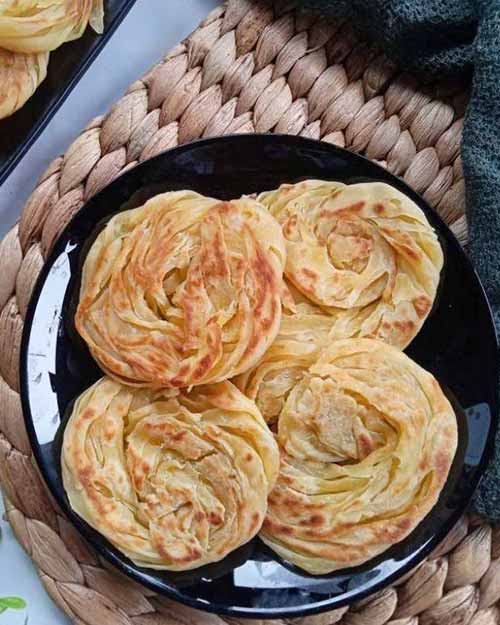 Resep Roti Maryam Lembut Berlapis Paling Mudah