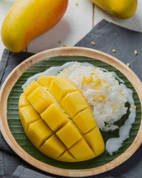 Resep Mango Sticky Rice Ala Thailand Paling Enak