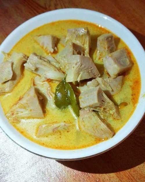 Resep Sayur Nangka Jawa Bumbu Kuning