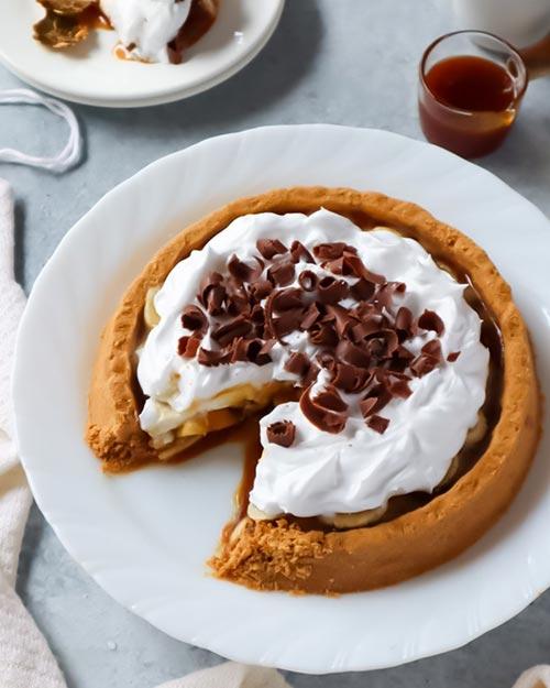 Resep Banoffee Pie Homemade Paling Praktis