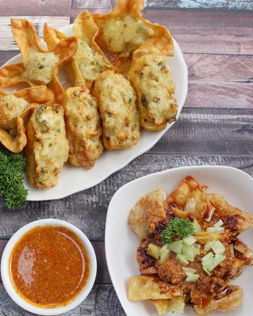Resep Batagor Bandung dengan Saus Kacang