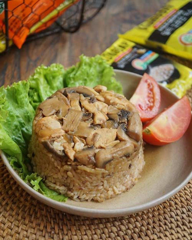 Resep Nasi Tim Ayam Jamur Spesial Ide Sarapan Lezat Sehat