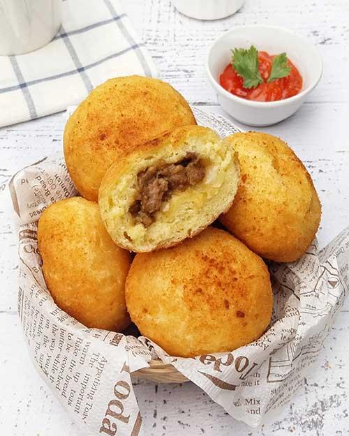 Resep Roti Goreng Empuk Aneka Rasa