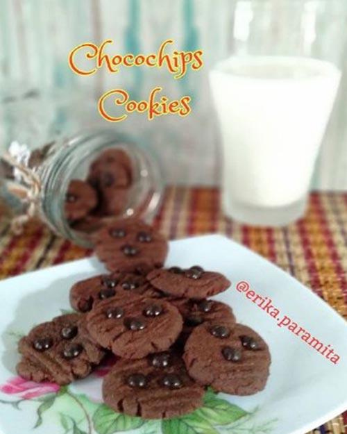 Resep Cookies Coklat Chocochips